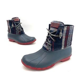 Sperry top sider waterproof duck boots size 6.5 M